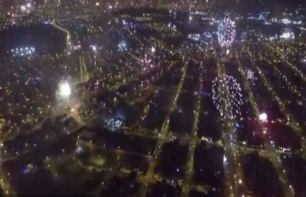 Fireworks over Lima