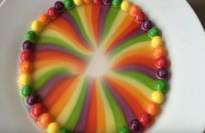rainbow skittle