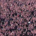 Largest gathering of people dress as Wally!