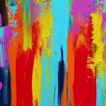 Easy abstract painting